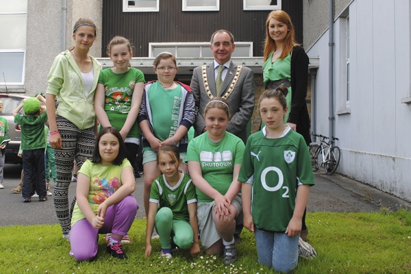 The Green School Committee and the Mayor