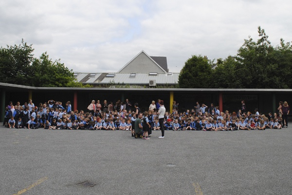The whole school on show