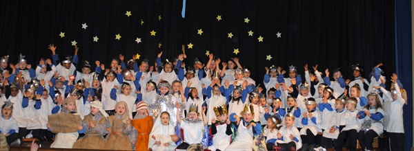 Our Junior Infants delighted us all with their lovely play.