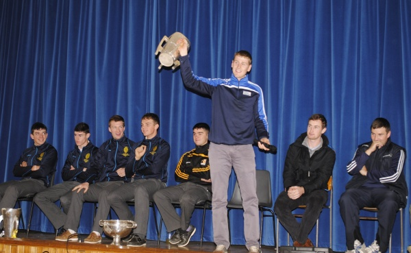 Captain Lester Ryan with The Liam Mc Carthy Cup
