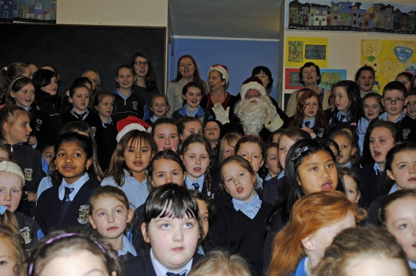 Third and Fourth Classes  We Love Santa too!
