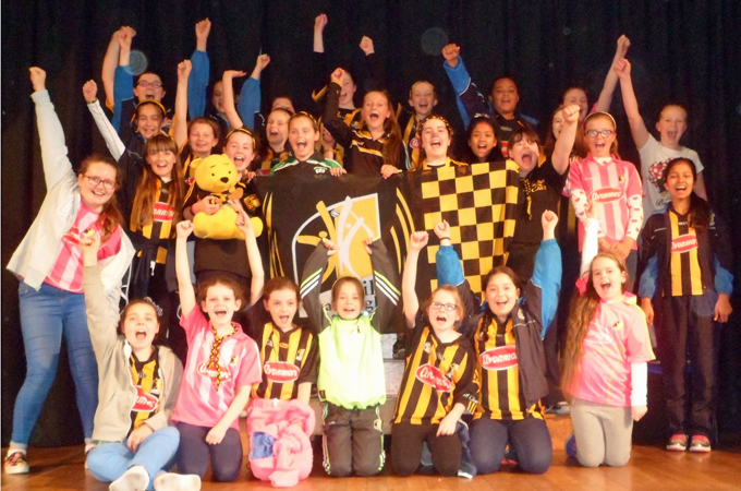 We welcomed Kilkenny Hurlers in September 2015