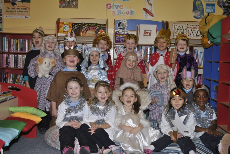 Senior Infants Stars of A Miracle in Town