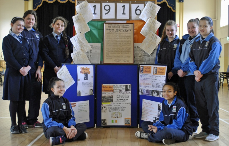 Room 15 fifth class did a wonderful project on 1916