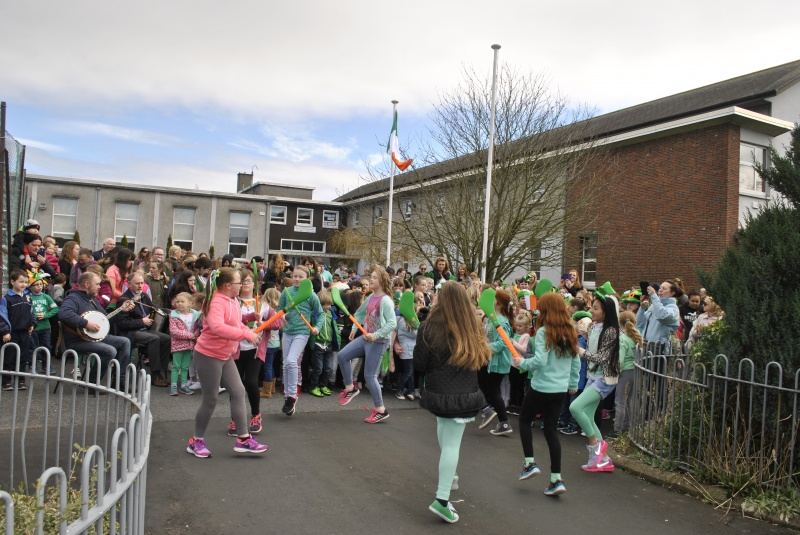 """We were all entertained by """"The Hurlers' Dance""""."""