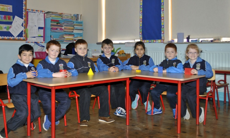 Junior Language Unit pupils Room 17