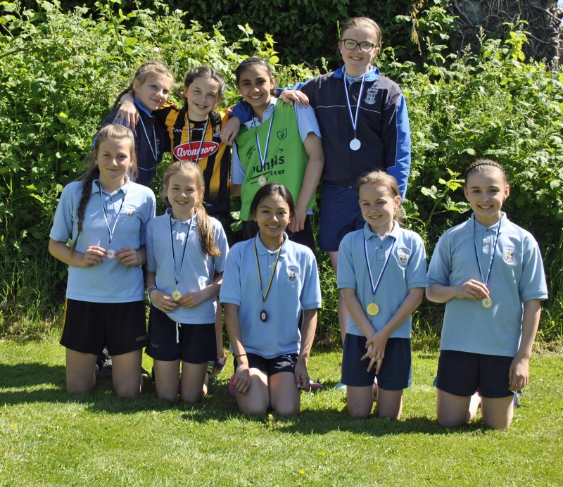 4th, 5th and 6th class medal winners