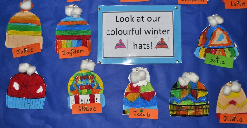 Look at our hats!