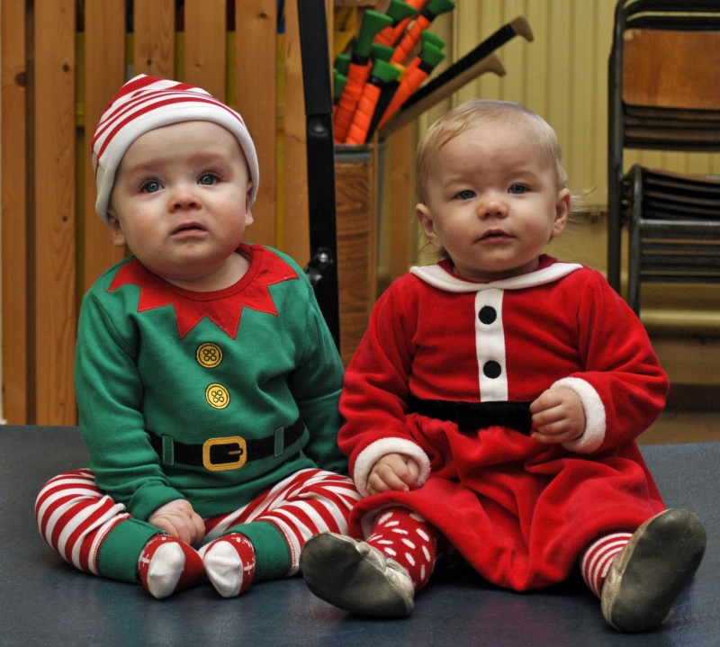 Aren't our Baby Santas just adorable!
